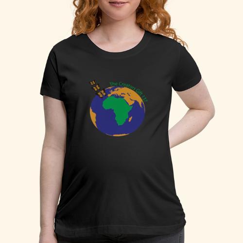 The CG137 logo - Women's Maternity T-Shirt