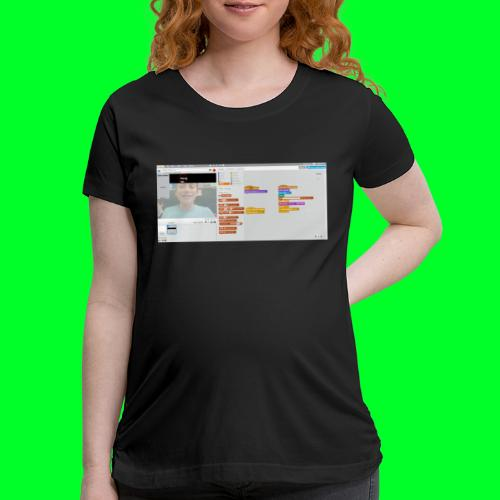 the only jendder is boy - Women's Maternity T-Shirt