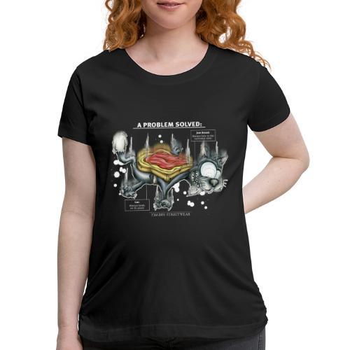 Der Problemlöser_E - Women's Maternity T-Shirt