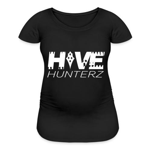 White Hive Hunterz Logo - Women's Maternity T-Shirt