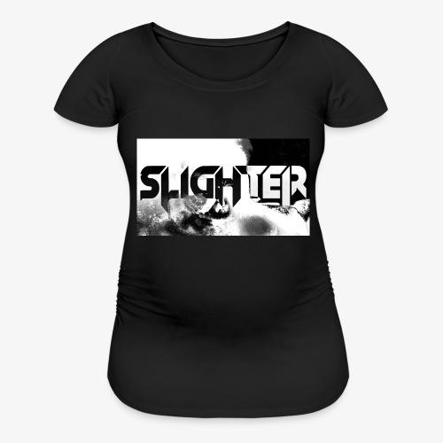Slighter Logo Corrosion - Women's Maternity T-Shirt