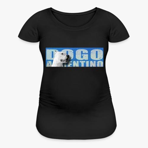 Dogo argentino. Dogo argentine, - Women's Maternity T-Shirt