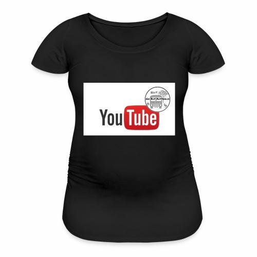 Go Bus Australia - YouTube Range - Women's Maternity T-Shirt
