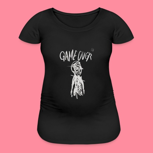 Game Over - Women's Maternity T-Shirt