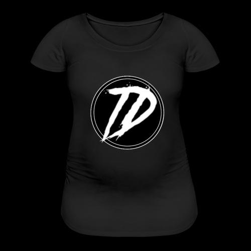 Team DEBUG Logo - Women's Maternity T-Shirt