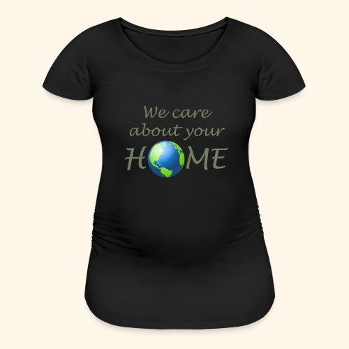 Happy Earth day - Women's Maternity T-Shirt