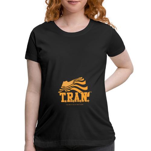 TRAN Gold Club - Women's Maternity T-Shirt