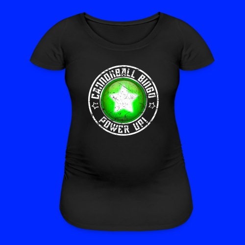 Vintage Power-Up Tee - Women's Maternity T-Shirt