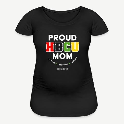 Proud HBCU Mom RGB - Women's Maternity T-Shirt