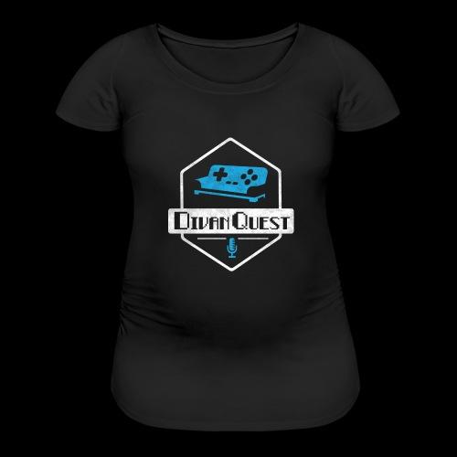 DivanQuest Logo (Badge) - Women's Maternity T-Shirt