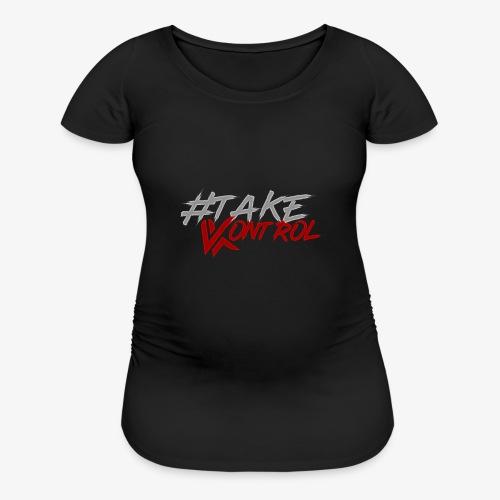 #TakeKontrol Logo - Women's Maternity T-Shirt