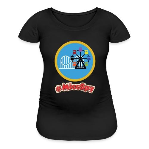 Paradise Pier Explorer Badge - Women's Maternity T-Shirt