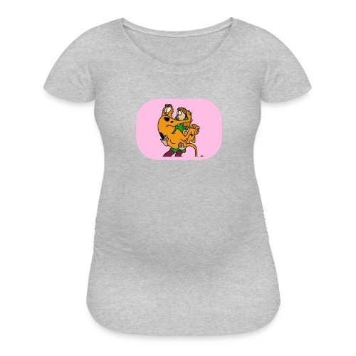 garf n jon - Women's Maternity T-Shirt
