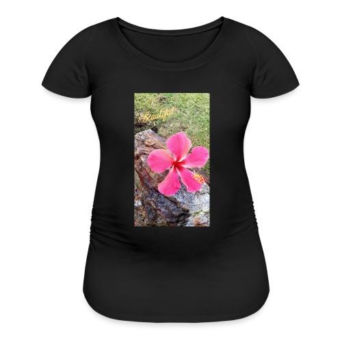 Pink Beach Flower - Women's Maternity T-Shirt