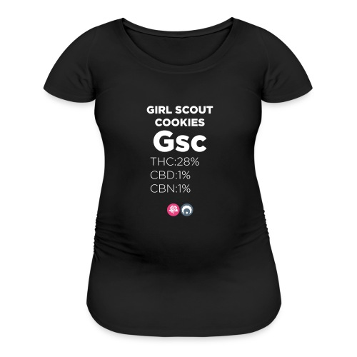 girl scout cookies - Women's Maternity T-Shirt