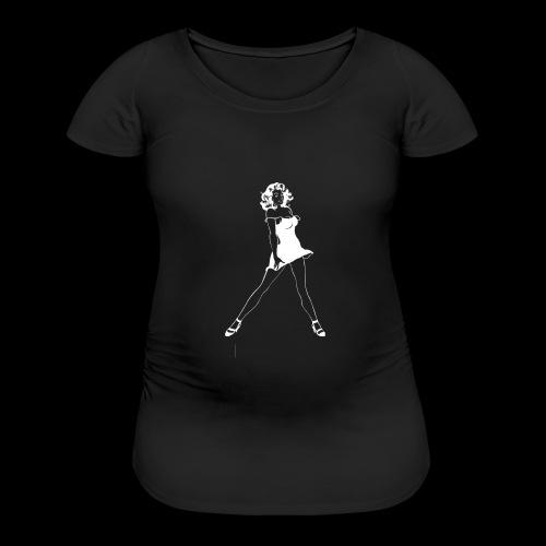 SHDC Girl Hat - Women's Maternity T-Shirt
