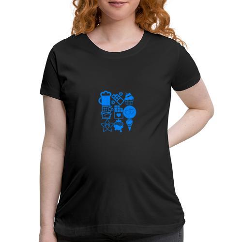 CHOCOLATE - Women's Maternity T-Shirt