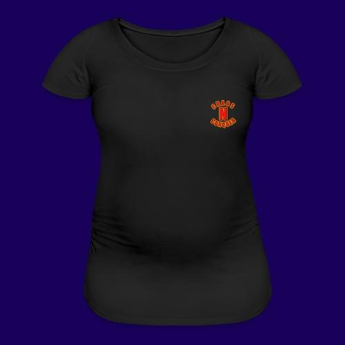ChaosNConquer Minimalist Logo Print - Women's Maternity T-Shirt