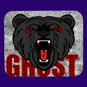 Illusive Ghost Logo - Mouse pad Horizontal