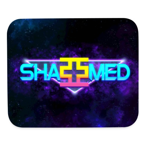 New Retro ShaMed Mousepad - Mouse pad Horizontal