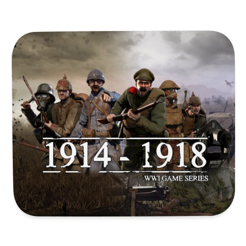 WW1 Game Series Mouse Mat - Mouse pad Horizontal