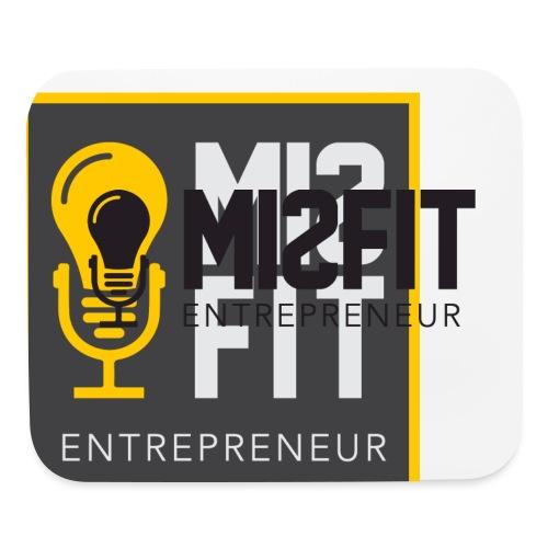 official misfit logo blac - Mouse pad Horizontal