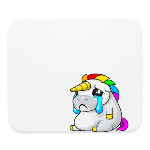 Alasdair unicorn crying - Mouse pad Horizontal