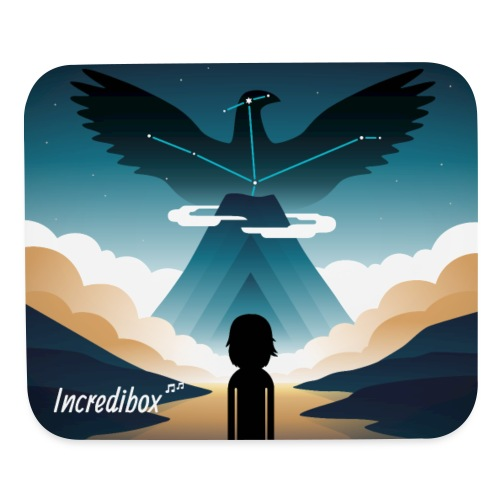 tapis-v4-eagle - Mouse pad Horizontal