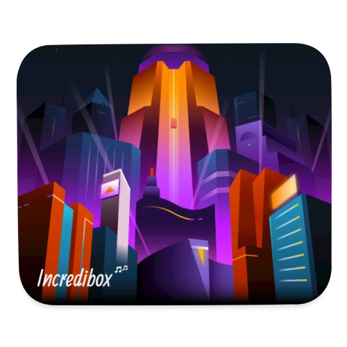 tapis-v6-city - Mouse pad Horizontal