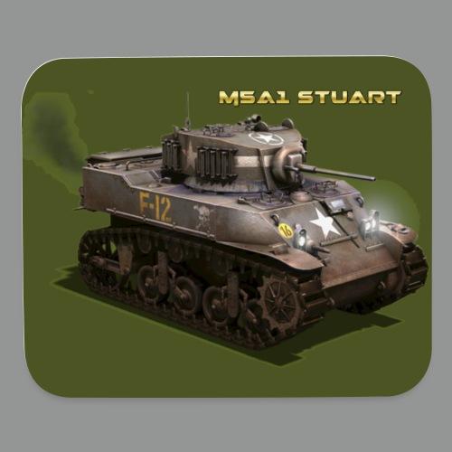 M5A1 STUART - Mouse pad Horizontal