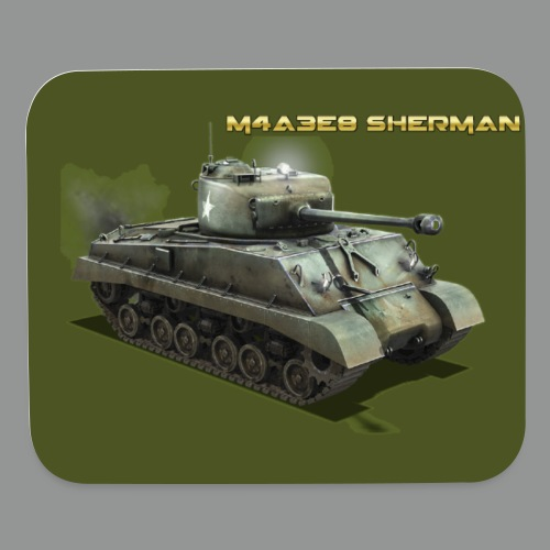 M4A3E8 SHERMAN - Mouse pad Horizontal