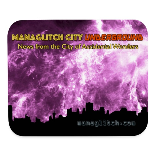 Managlitch 8x10 - Mouse pad Horizontal