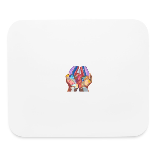 Heart in hand - Mouse pad Horizontal