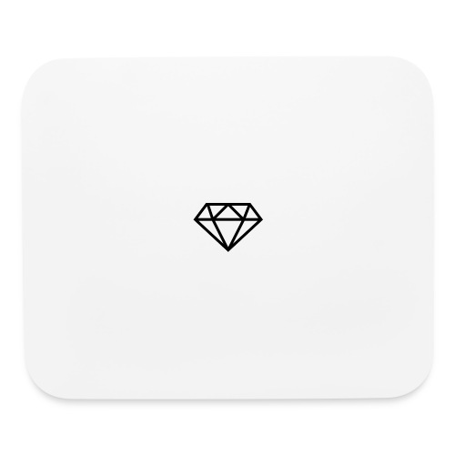 diamond outline 318 36534 - Mouse pad Horizontal