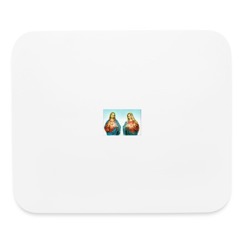 Jesus and Mary - Mouse pad Horizontal
