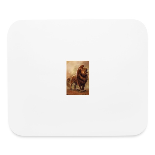 Lion power roar - Mouse pad Horizontal