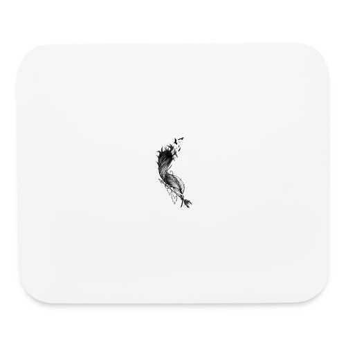 Black Feither - Mouse pad Horizontal