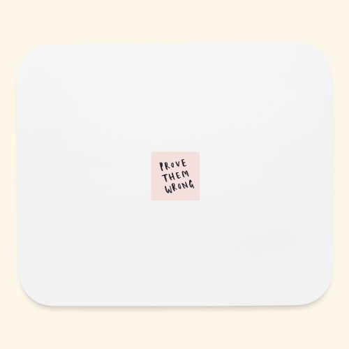 show em what you about - Mouse pad Horizontal