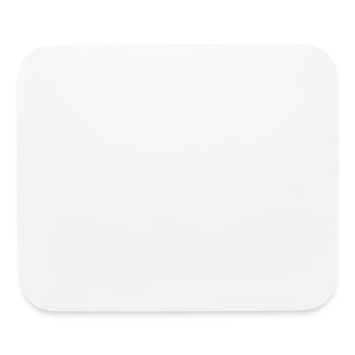 SMS White Logo - Mouse pad Horizontal