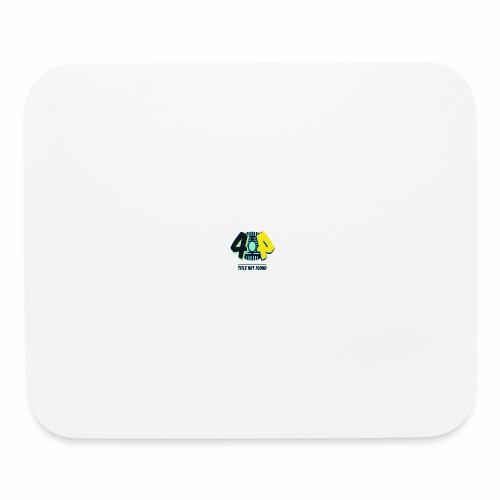 404 Logo - Mouse pad Horizontal