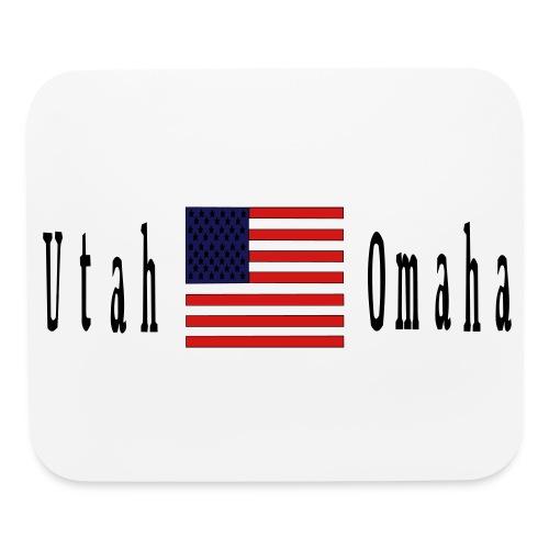 USA Utah Omaha D Day - Mouse pad Horizontal