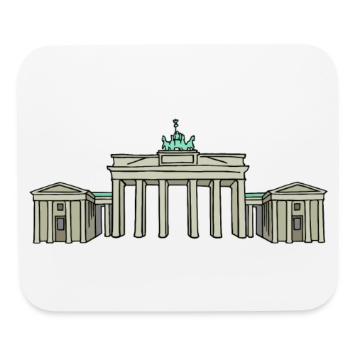 Brandenburg Gate Berlin - Mouse pad Horizontal