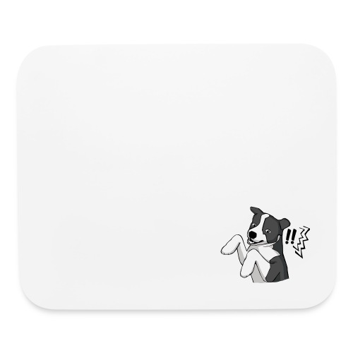 Surprised Border Collie - Mouse pad Horizontal