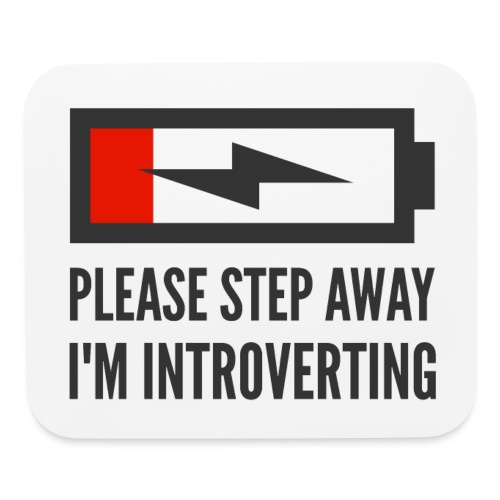 introverting - Mouse pad Horizontal