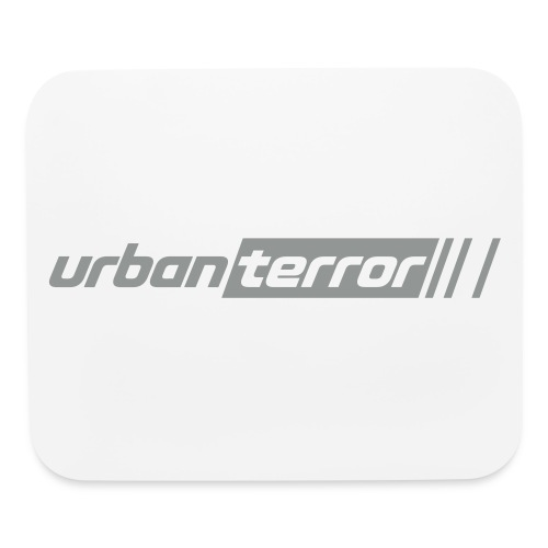 Urban Terror grey logo - Mouse pad Horizontal