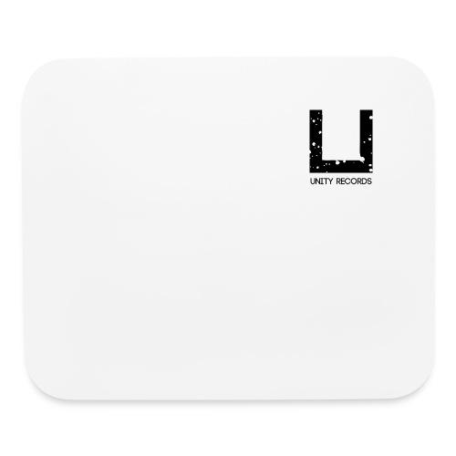 UNITY RECORDS LOGO BLACK - Mouse pad Horizontal