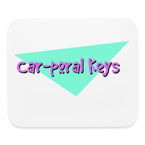 Car poral Keys Logo - Mouse pad Horizontal
