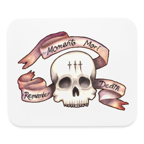 Momento Mori - Remember Death - Mouse pad Horizontal