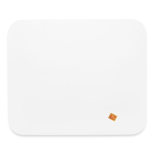 Be, Orange - Mouse pad Horizontal