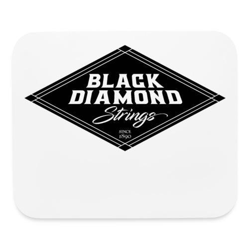 Black-Diamond-transparent - Mouse pad Horizontal